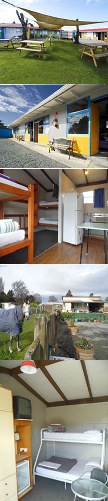 Enjoy staying at Blenheim Backpackers & Motorcamp Marlborough New Zealand